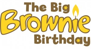The Big Brownie Birthday Logo
