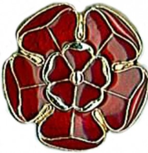 Lancashire Red Rose Badge